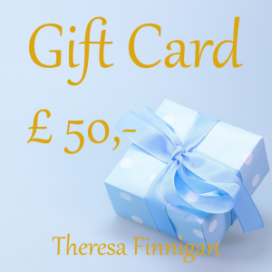 Gift card Theresa Finnigan Crystal Cottage