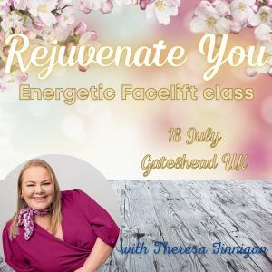 energetic Facelift Theresa Finnigan