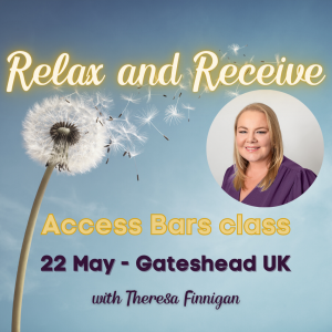 Access Bars Theresa finnigan Crystal cottage